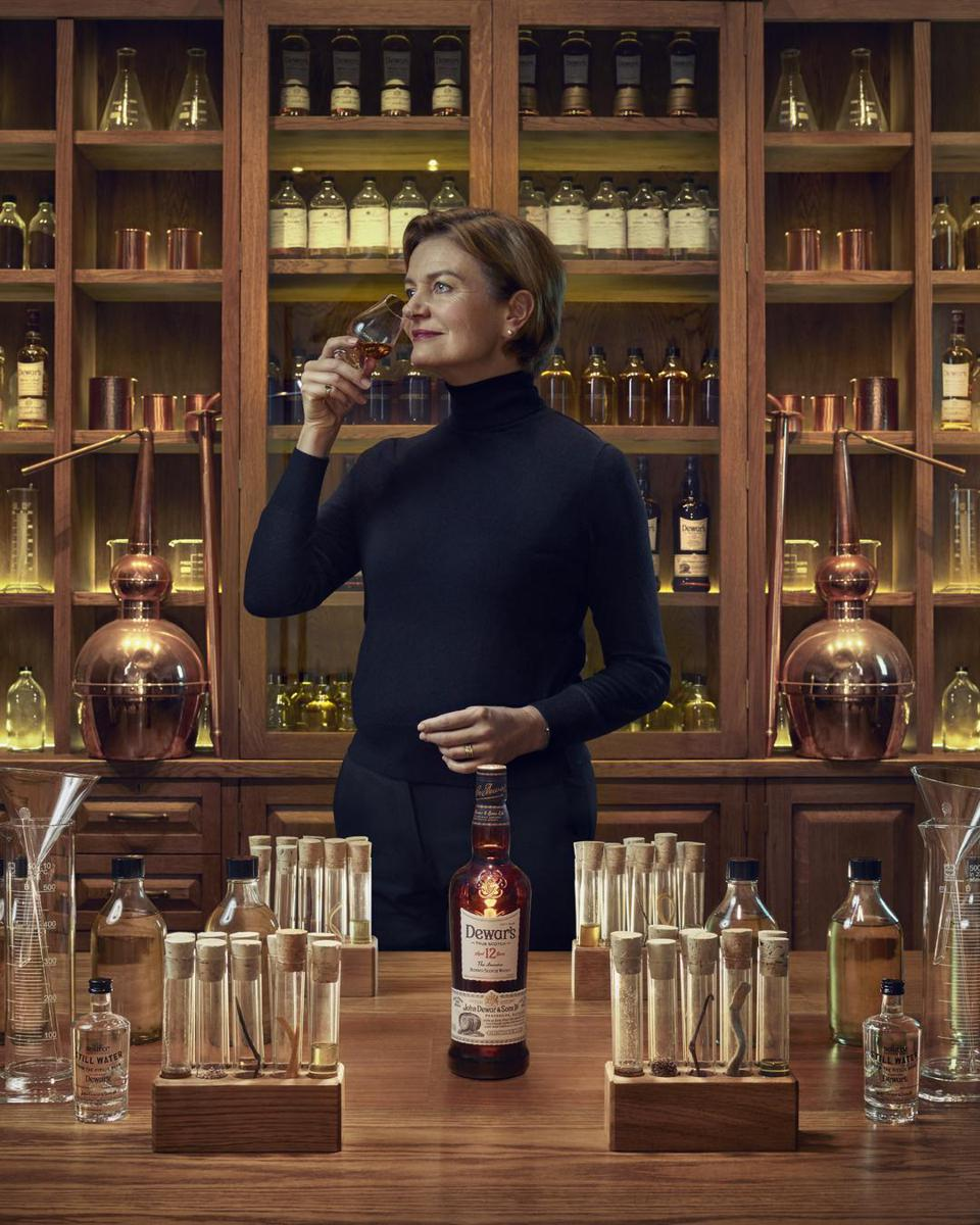 Stephanie Macleod is the seventh master blender in the history of Dewars.