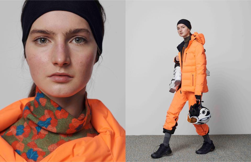 Aztech Mountain Luxury Ski Wear Olympic Gold Medalist