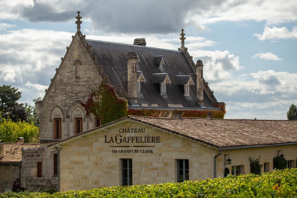 Chateau La Gaffelière, una delle cantine della famiglia Domaine Comtes de Malet Roquefort.