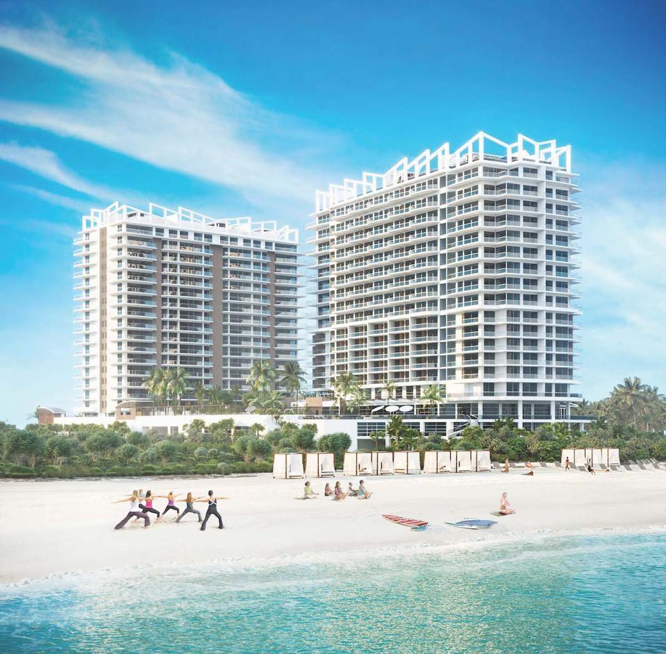 Amrit ocean resort on the beach yoga wellness health