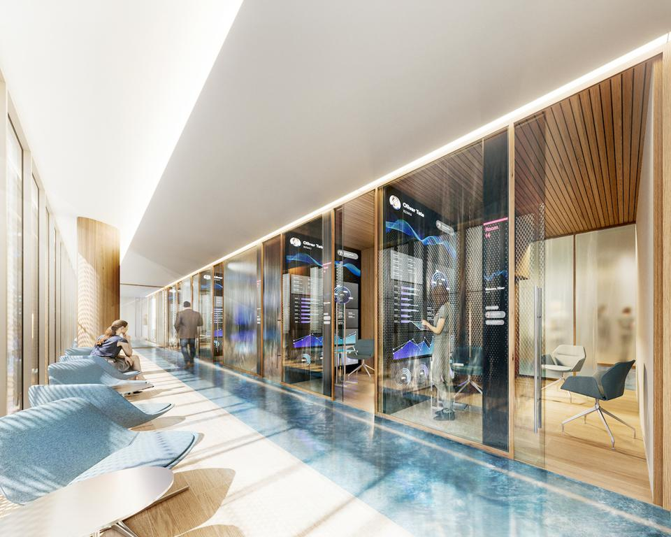 Treatment rooms at Legacy Hotel & Residences