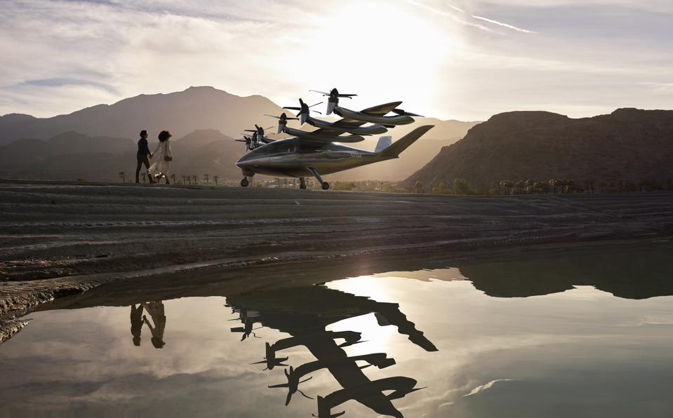 Archer's zero-emissions flying aircraft