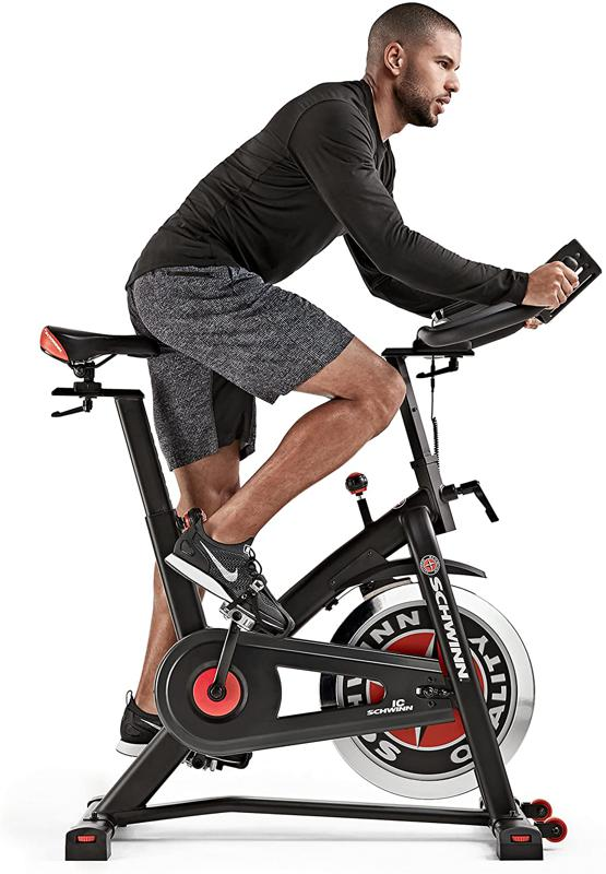 The best upright exercise bike is the Schwinn IC3