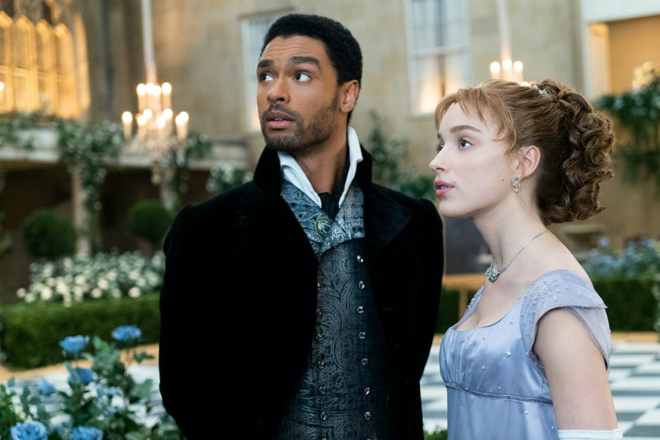Regé-Jean Page and Phoebe Dynevor will return for a second season of 'Bridgerton' on Netflix.