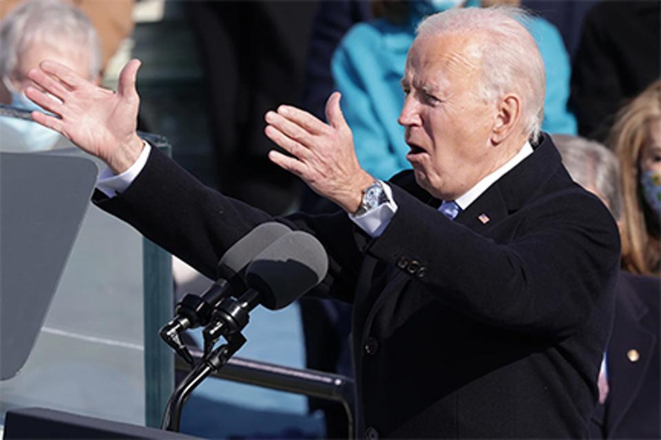 Biden wearing Rolex.