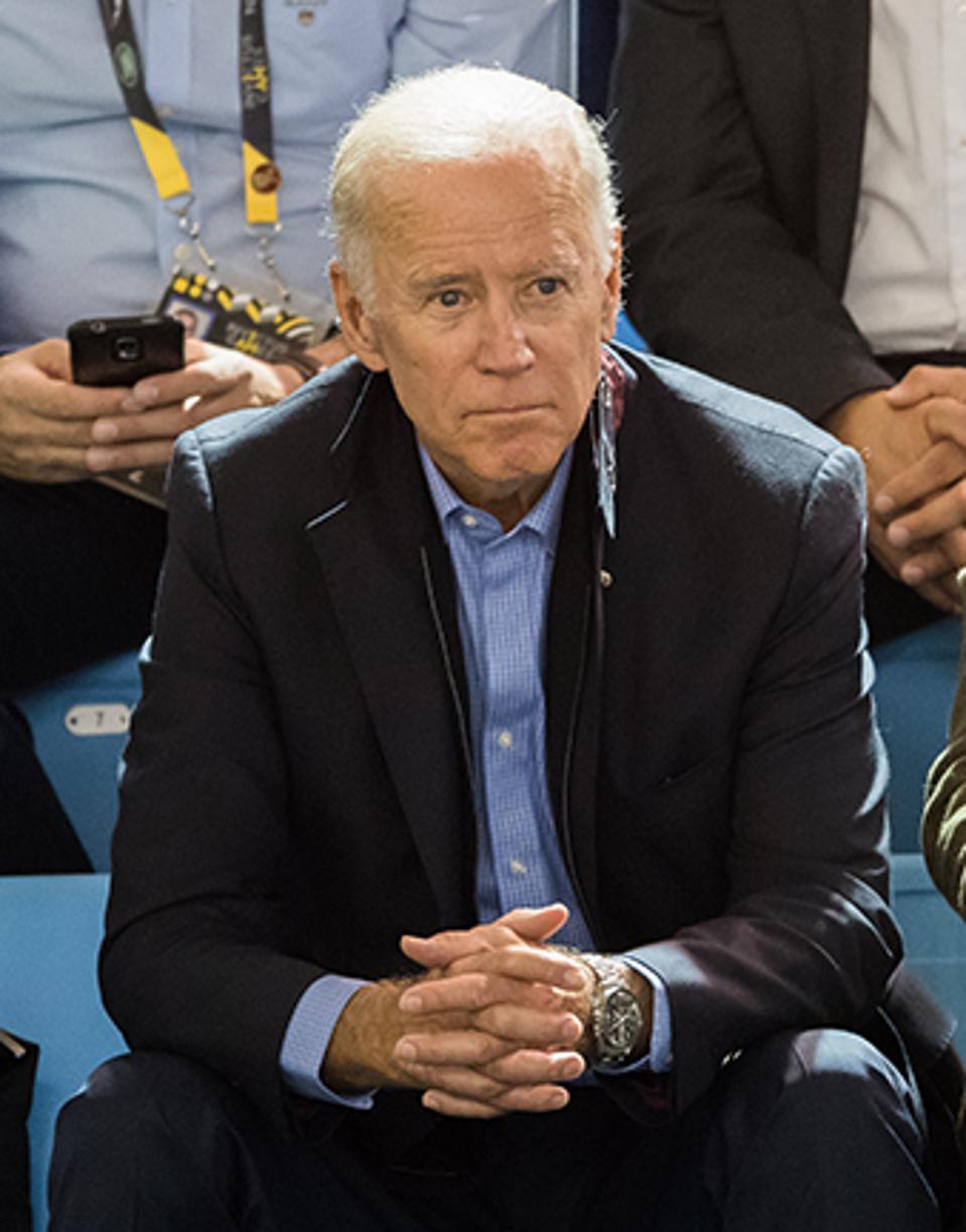 Biden wearing Omega.