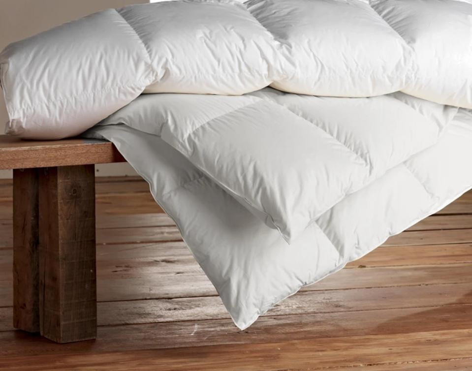 SOL Organics Cotton Down Comforter (All-Season; Full/Queen)