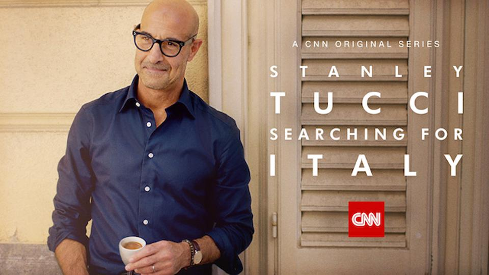 Stanley Tucci will premiere in Searching for Italy