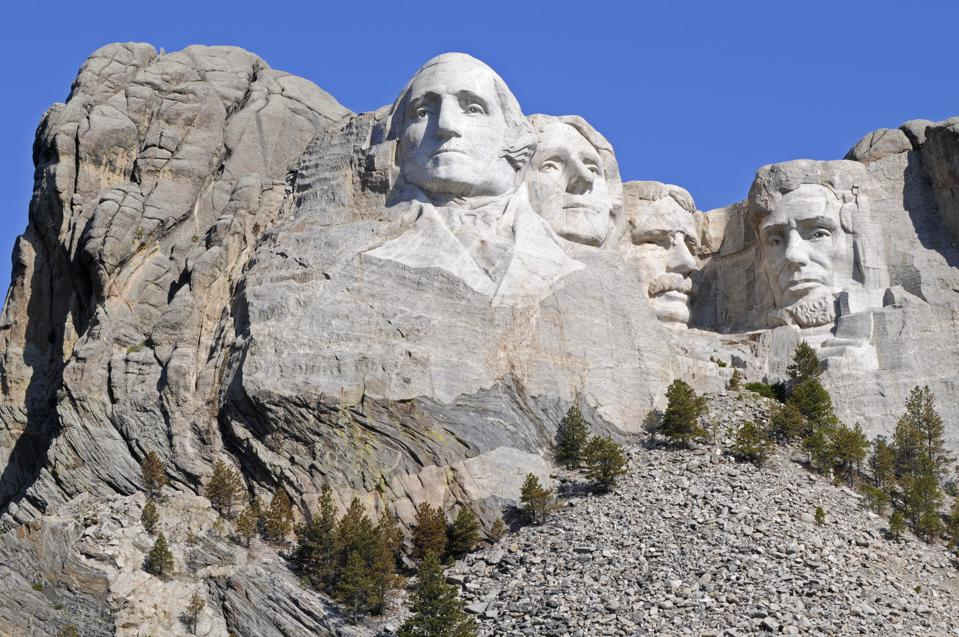 Mount Rushmore is deeply weird
