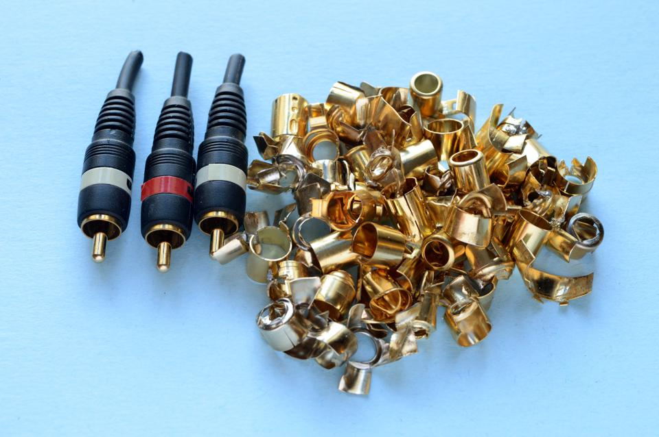 Video Cable Gold Recovery