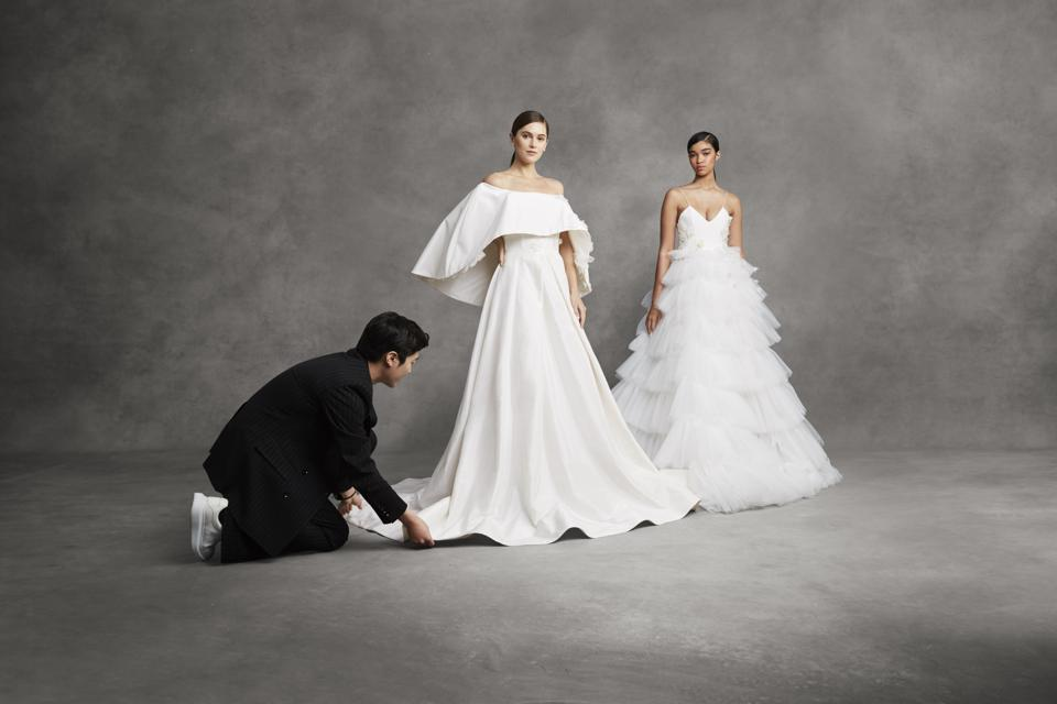 Andrew Kwon tidies bridal gowns from his debut collection