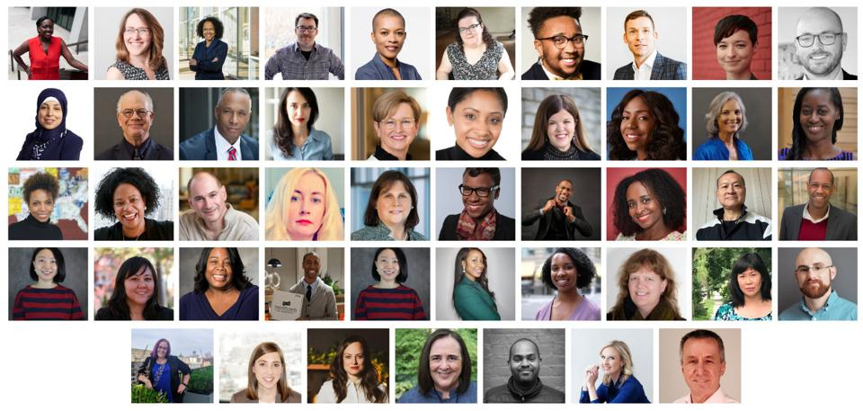 Mosaic of presenters from the 2020 Diversity & Inclusion Research Conference