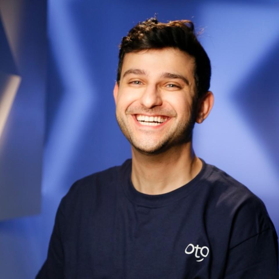 OtO Lawn smart sprinkler founder and president Ali Sabti Toronto