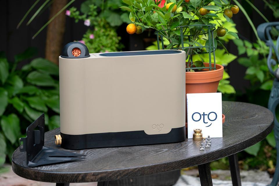 OtO lawn sprinkler nozzle mounting installation