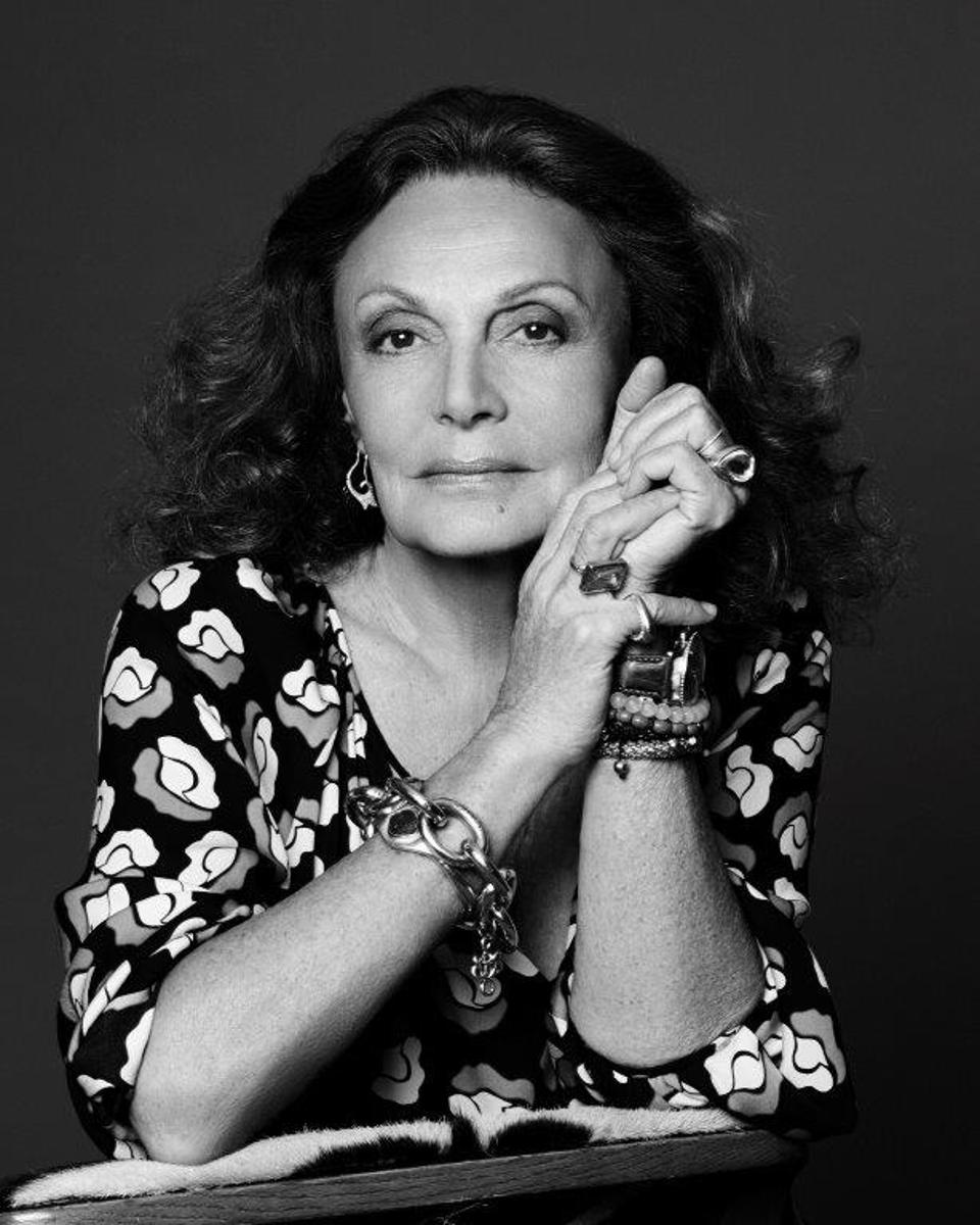 Diane von Furstenberg shares life lessons in ″Own It: The Secret to Live.″
