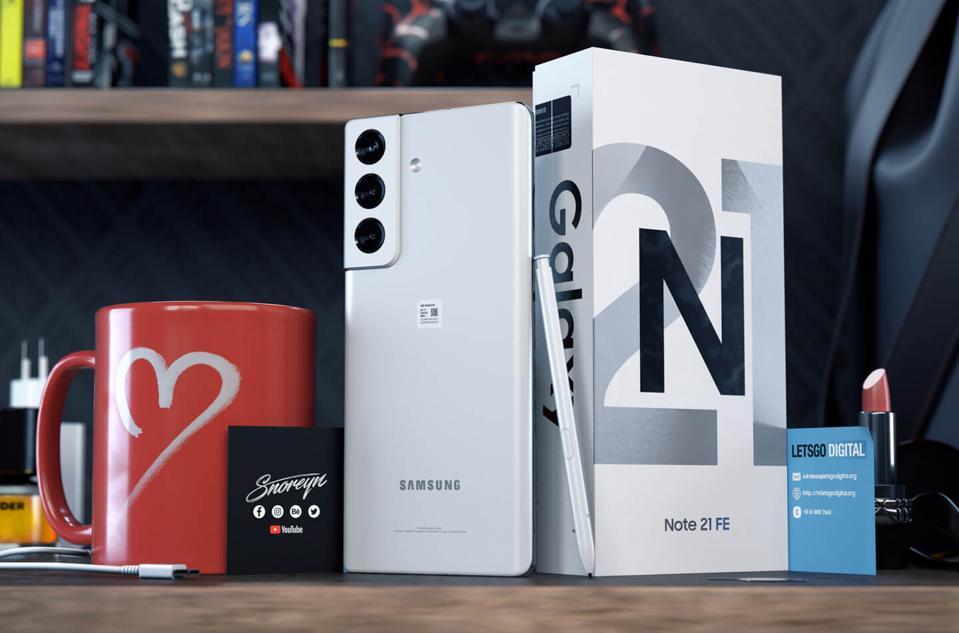 Samsung Galaxy Note 21 Fan Edition konsepti