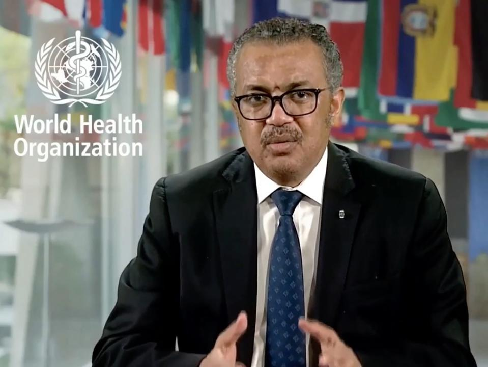 Tedros Adhanom, WHO Director General Covid-19 pandemic