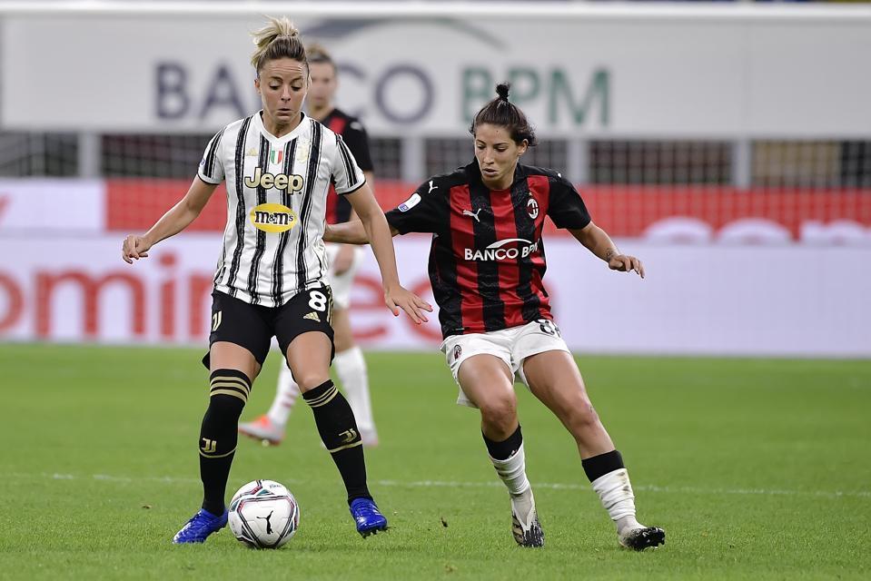 AC Milan v Juventus - Italian Serie A Women