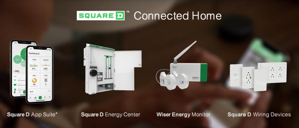 mage of the Square D and Wiser smart home products