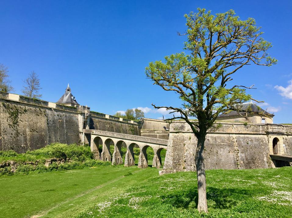 Citadelle in Blaye, Bordeaux, France