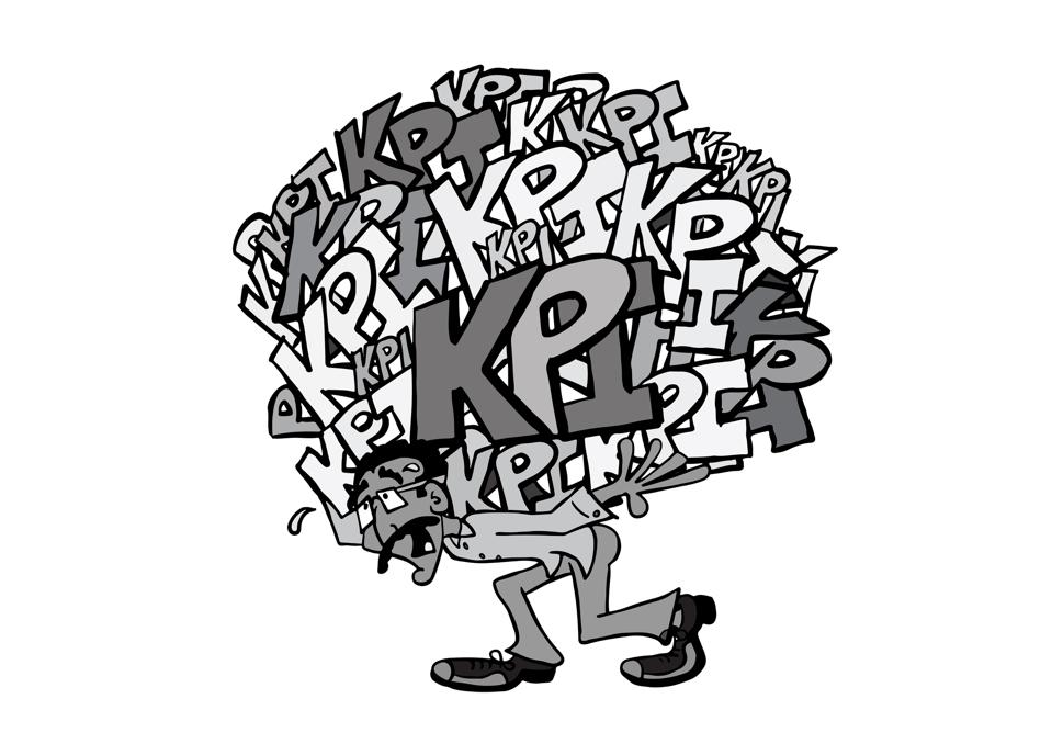 Crushed by the pressure of KPIs