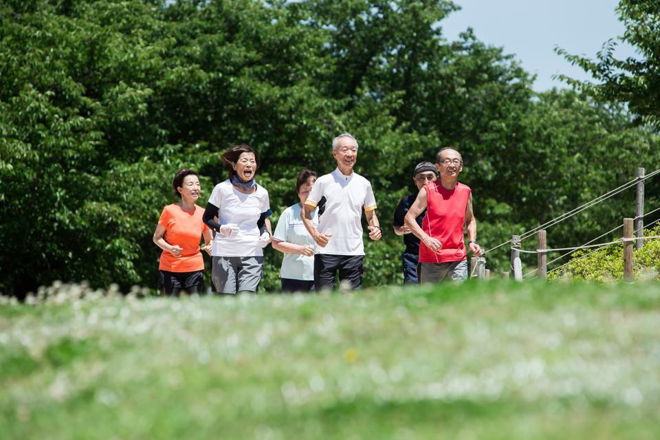 Senior jogging club