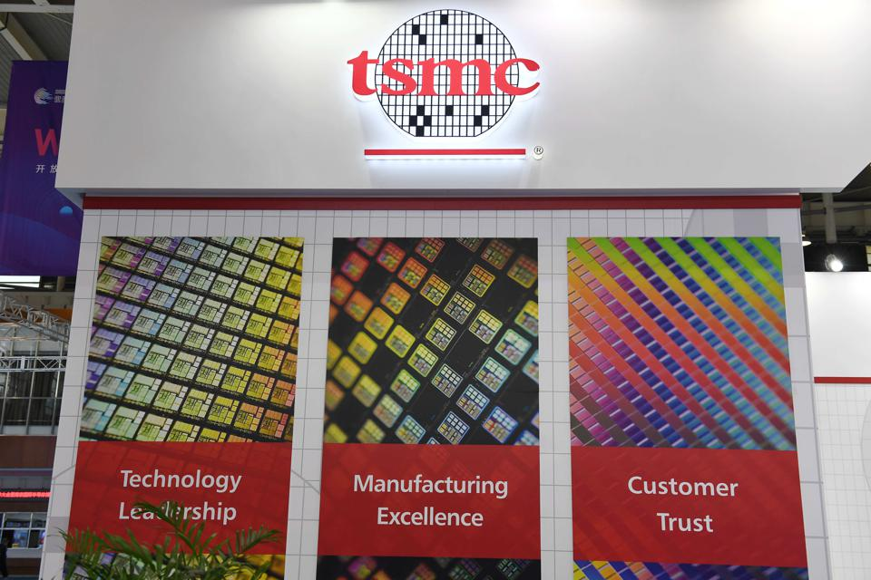 TSMC booth at the 2020 World Semiconductor Congress