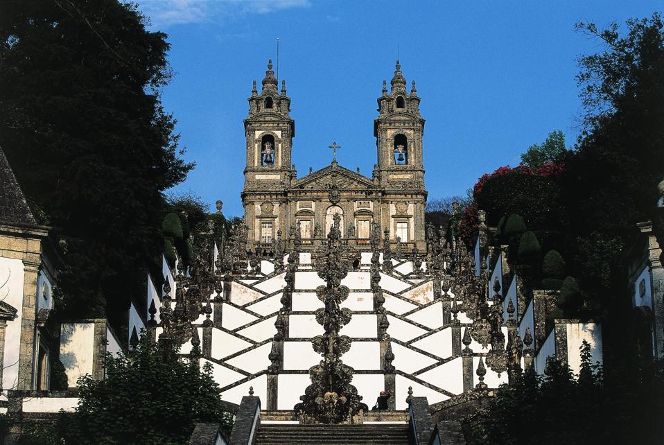 Staircase, Bom Jesus do Monte sanctuary, Braga