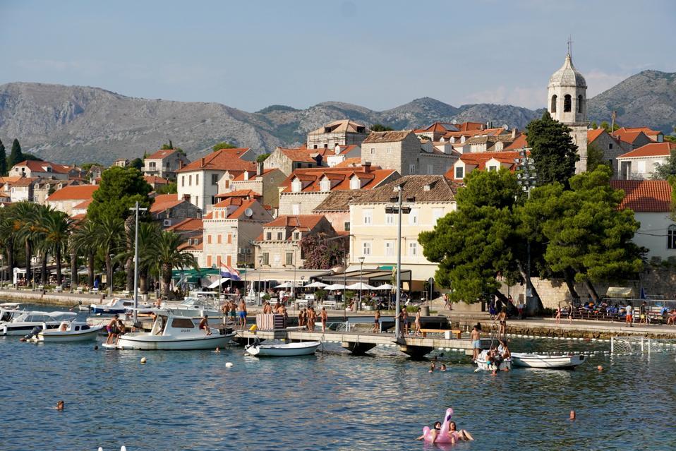 Cavtat, seaside resort.