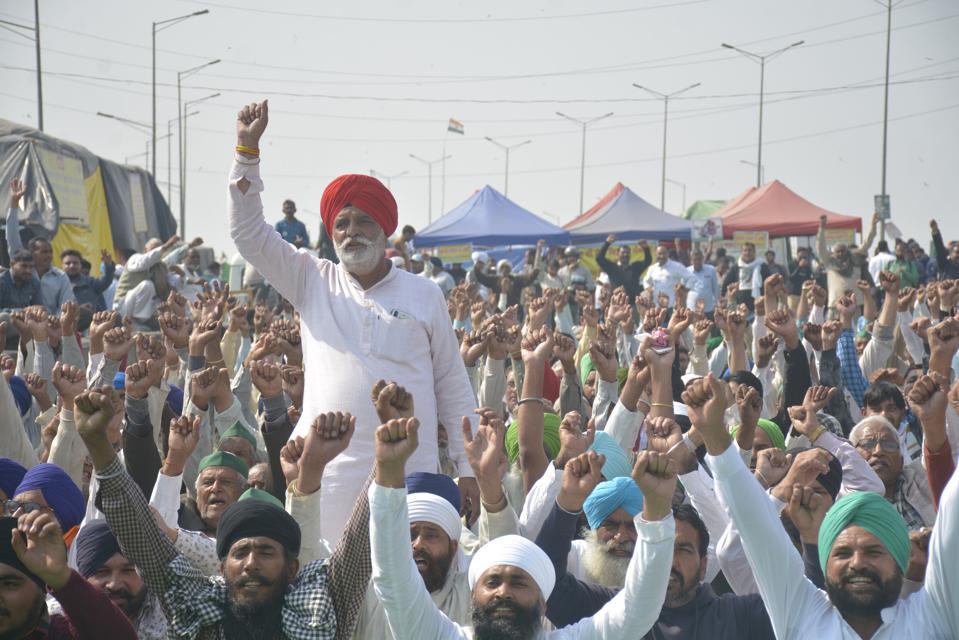Farmer Protest At Ghazipur Border Against Farm Laws
