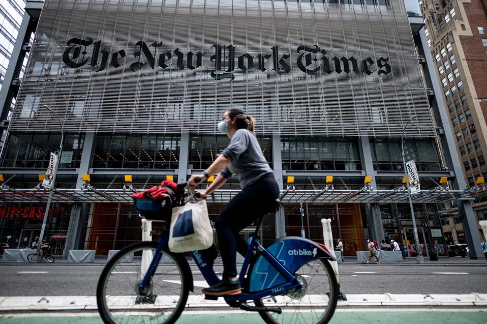 US-TECH-MEDIA-APPLE-NYT