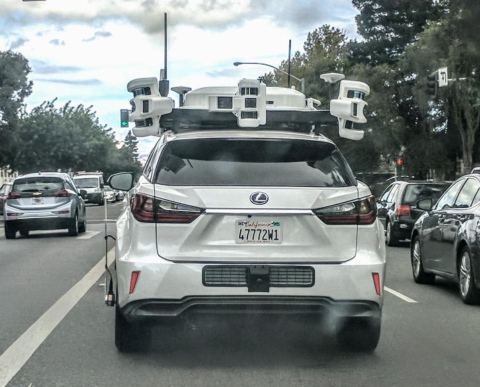 Car in Sunnyvale