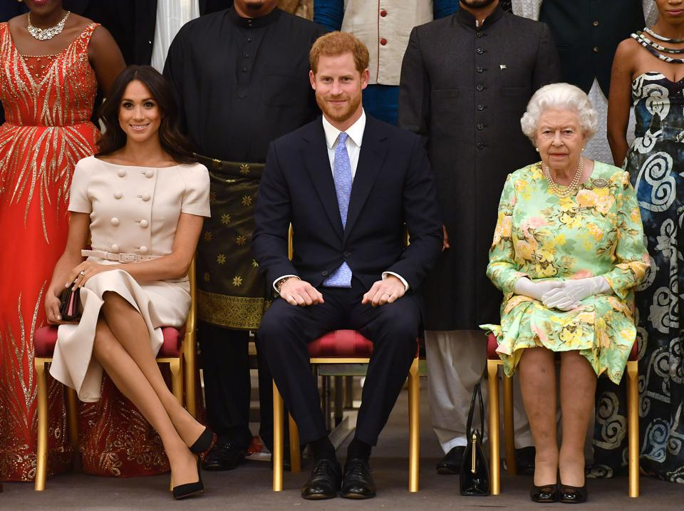 Her Majesty Hosts The Final Queen's Young Leaders Awards Ceremony