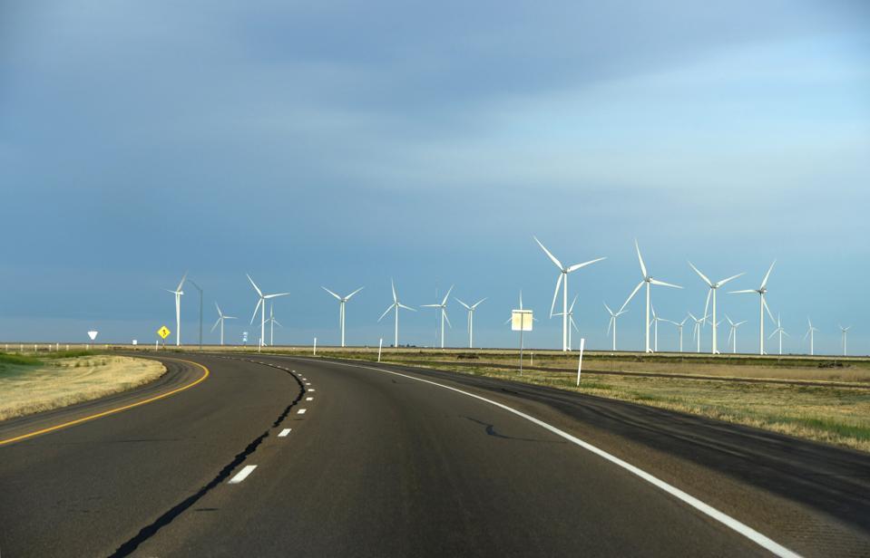 Wind power in Texas...
