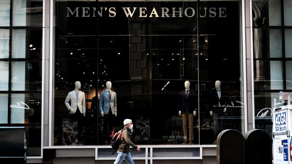 Men's Clothing Industry Among Retail Sectors Hard Hit By Covid Economic Slowdown