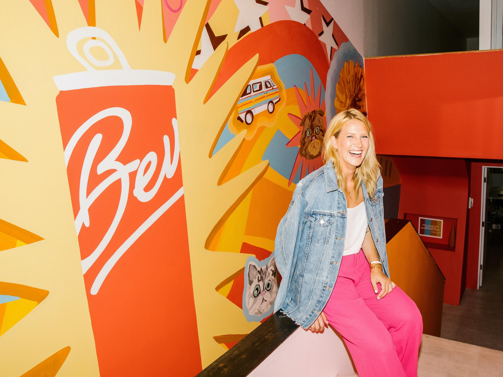 Alix Peabody founded Bev in 2017. She runs from a headquarters in Venice Beach, California.