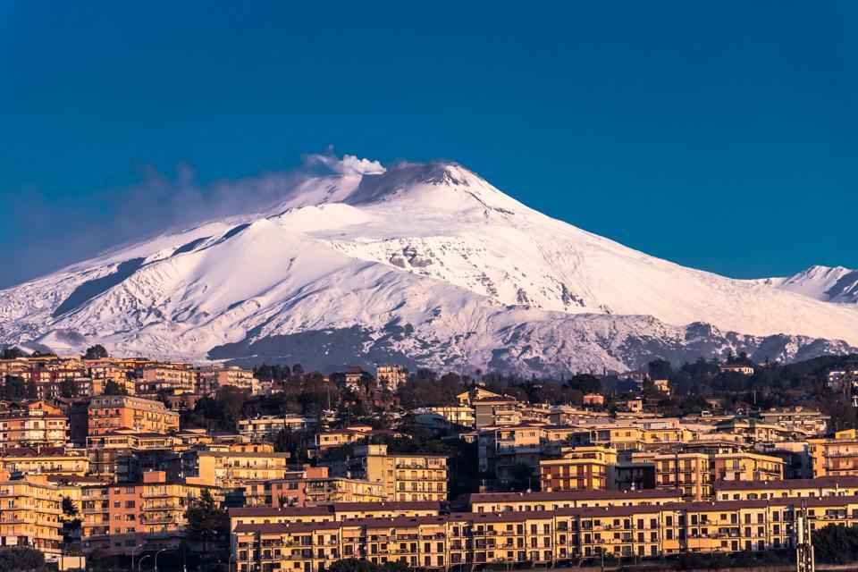 Etna over Catania