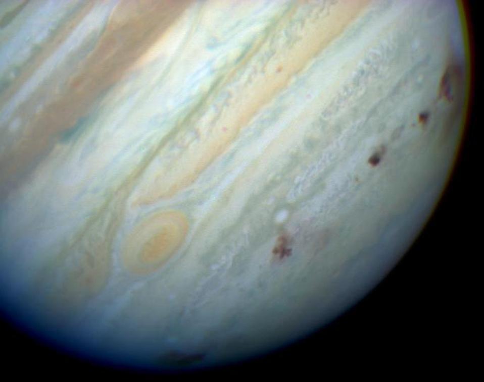 Shoemaker-Levy 9 Jupiter impact