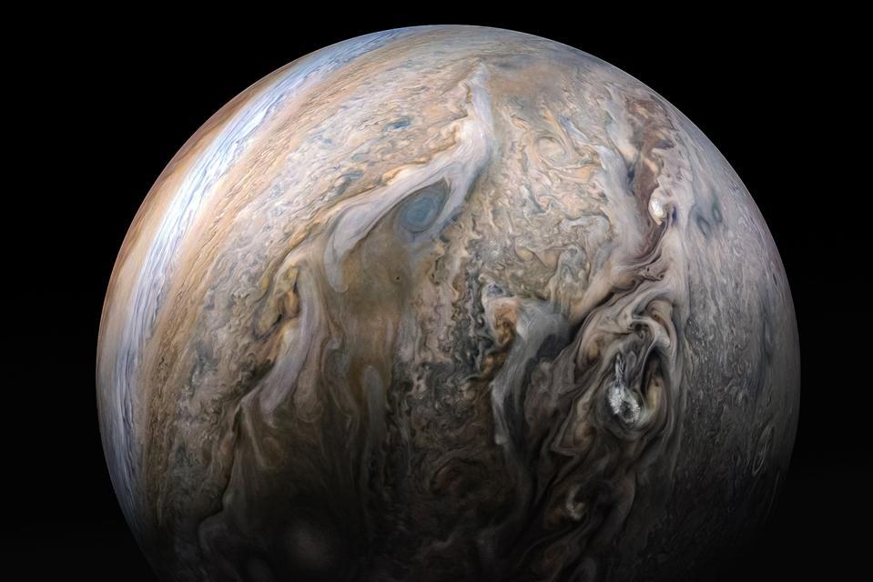 Jupiter taken by Juno