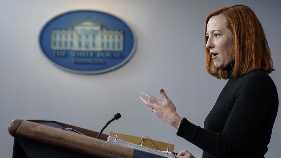 White House Press Secretary Jen Psaki Holds Media Briefing