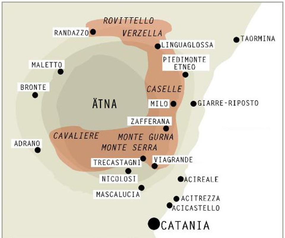 The Etna Rosso DOC appellation