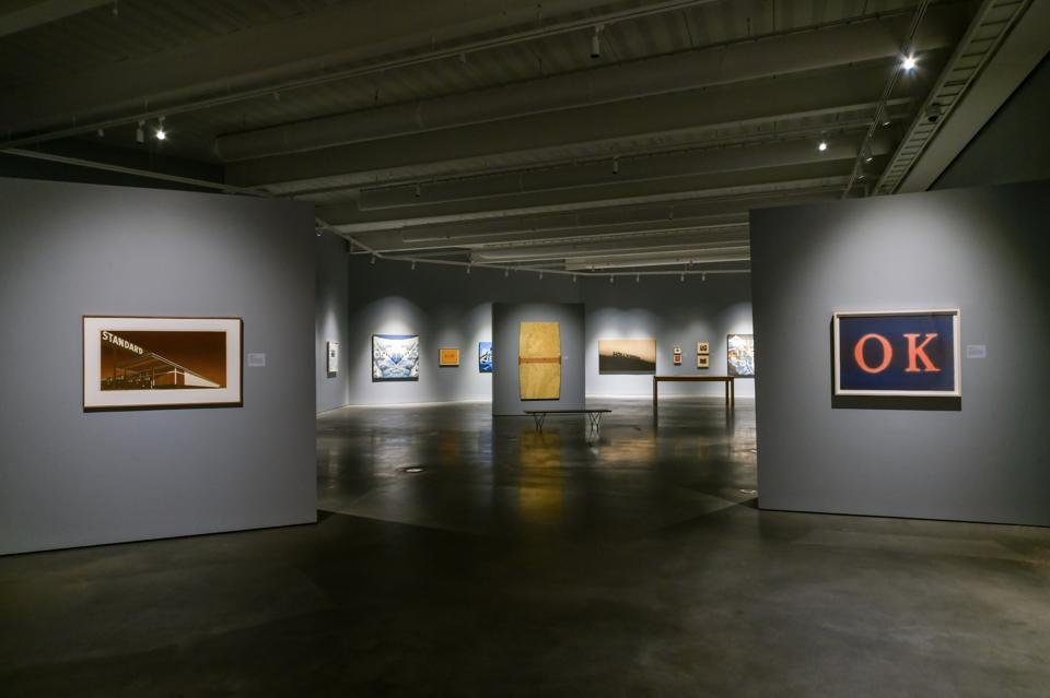 An exhibition on Ed Ruscha and the influence of his Oklahoma roots at Oklahoma Contemporary features work from the artist's personal collection
