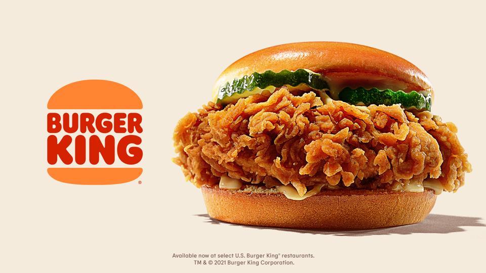 Burger King's new chicken sandwich