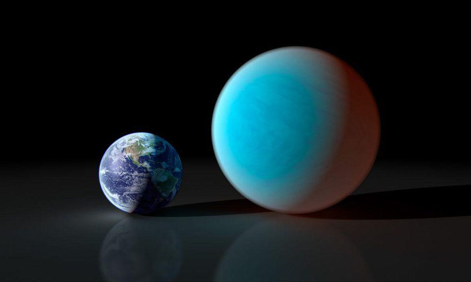 In theory, Planet Nine should be similar to exoplanet 55 Cancri e: twice Earth's mass.