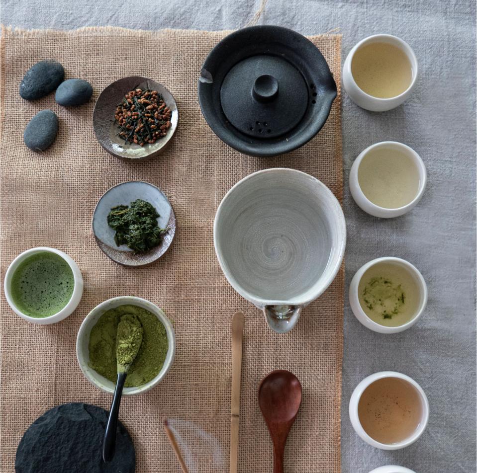 SORATE's Premium Geinmaicha and Ceremonial matcha teas