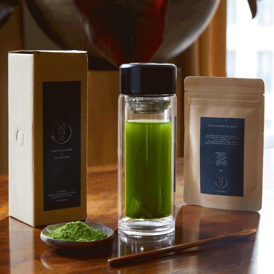 SORATEs Matcha and Tea Shaker