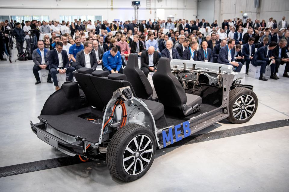Ford of Europe will use Volkswagen's MEB EV platform to short-cut development time.