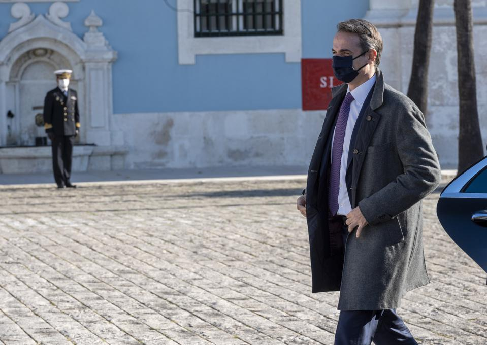 Portuguese Prime Minister Receives Greek Counterpart