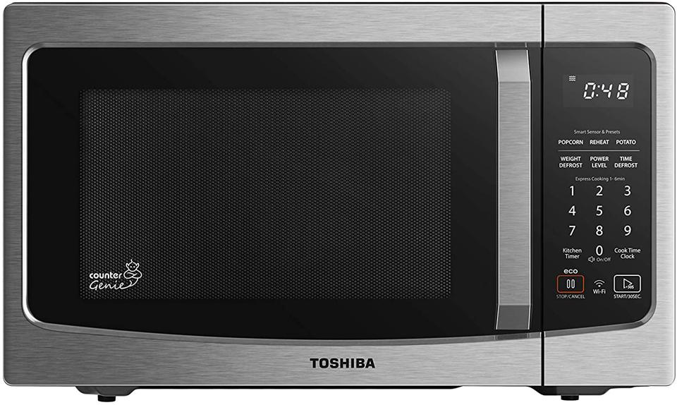 Toshiba ML-EM34P(SS) Smart Countertop Microwave