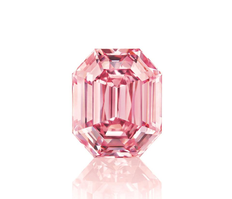 The 18.96-carat 'Winston Pink Legacy' diamond